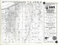 Ontonagon T51N-R40W, Ontonagon County 1959